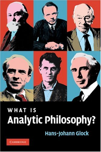 What Is Analytic Philosophy?   2008 9780521694261 Front Cover