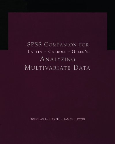 Analyzing Multivariate Data   2003 9780534382261 Front Cover