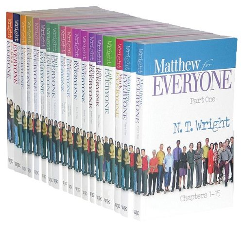 New Testament for Everyone Complete Eighteen-Volume Set  2011 9780664238261 Front Cover