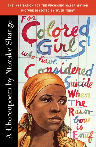 For Colored Girls Who Have Considered Suicide, When the Rainbow Is Enuf   1997 edition cover