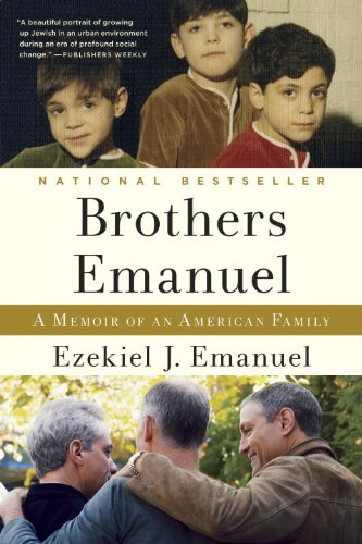 Brothers Emanuel A Memoir of an American Family N/A edition cover