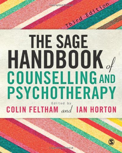 SAGE Handbook of Counselling and Psychotherapy  3rd 2012 edition cover