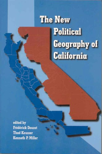 New Political Geography of California:  2008 edition cover