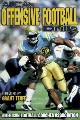 AFCA's Offensive Football Drills   1998 9780880115261 Front Cover