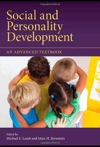 Social and Personality Development An Advanced Textbook  2011 edition cover