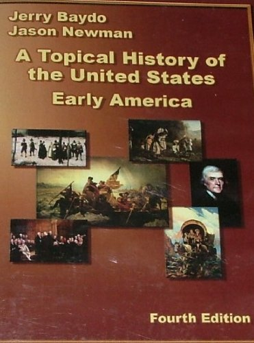 TOPICAL HISTORY OF UNITED STATES... N/A edition cover