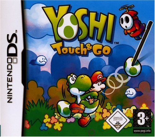 Yoshi Touch and Go Nintendo DS artwork