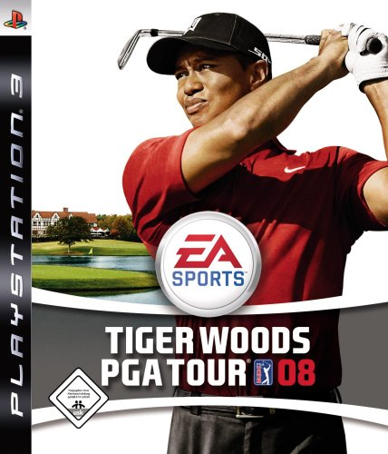 Tiger Woods PGA Tour 08 PlayStation 3 artwork