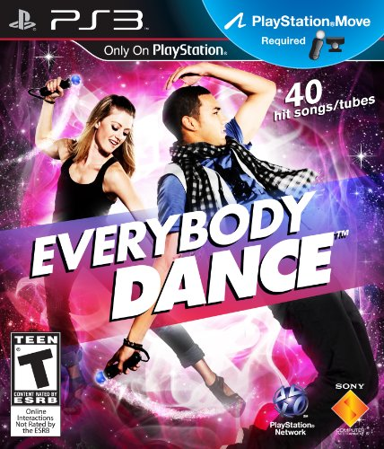 PS3 Everybody Dance PlayStation 3 artwork