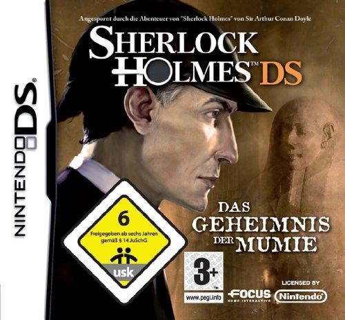 Sherlock Holmes DS Nintendo DS artwork