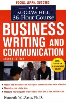 Business Writing and Communication  2nd 2010 edition cover