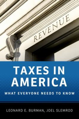 Taxes in America   2013 edition cover
