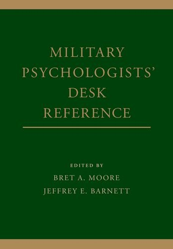 Military Psychologists' Desk Reference   2013 edition cover