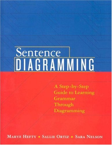 Sentence Diagramming Step-by-Step Approach to Learning Grammar Through Diagramming  2008 edition cover