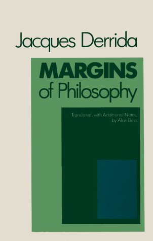 Margins of Philosophy   1982 (Reprint) edition cover