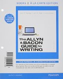 The Allyn & Bacon Guide to Writing:   2014 edition cover