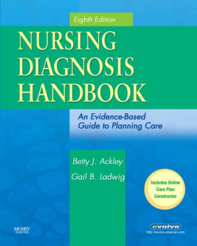 Nursing Diagnosis Handbook An Evidence-Based Guide to Planning Care 8th 2007 (Revised) edition cover