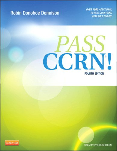 Pass Ccrn�!  4th 2013 9780323077262 Front Cover