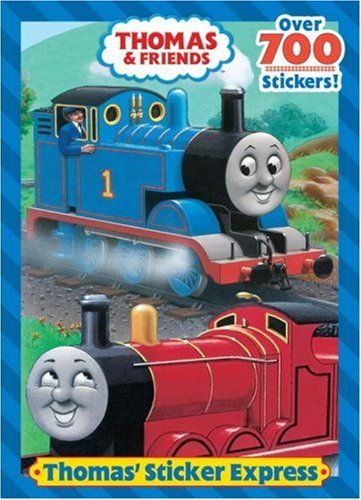THOMAS' STICKER EXPRESS (Thomas and Friends)  N/A 9780375841262 Front Cover