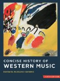 Concise History of Western Music  5th edition cover