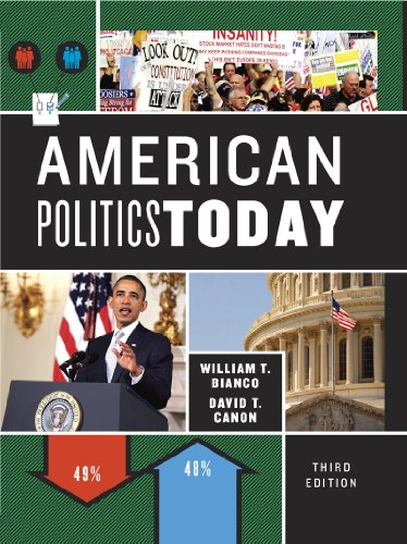 American Politics Today  3rd 2013 edition cover