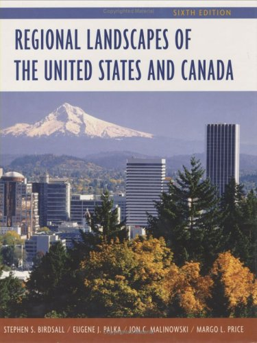Regional Landscapes of the United States and Canada  6th 2005 (Revised) edition cover