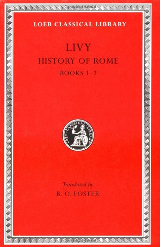 History of Rome   1919 edition cover