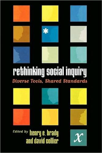 Rethinking Social Inquiry Diverse Tools, Shared Standards  2004 edition cover