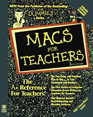 Macs for Teachers  3rd 1997 9780764502262 Front Cover