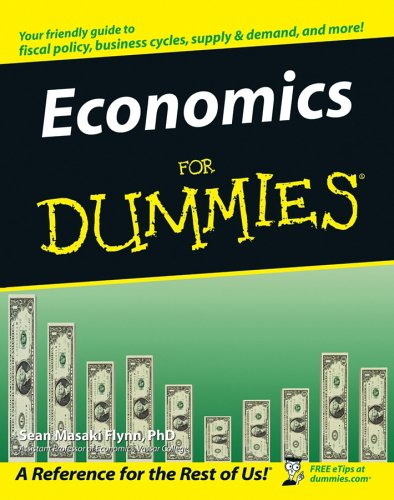 Economics for Dummies   2005 edition cover