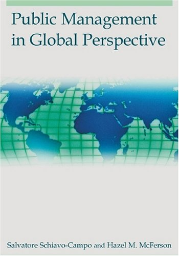 Public Management in Global Perspective   2008 edition cover