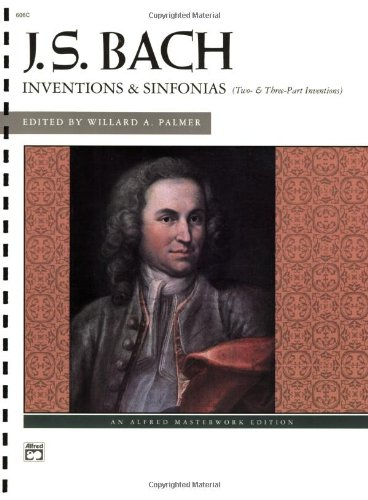 Bach -- Inventions and Sinfonias Two- and Three-Part Inventions  1993 edition cover