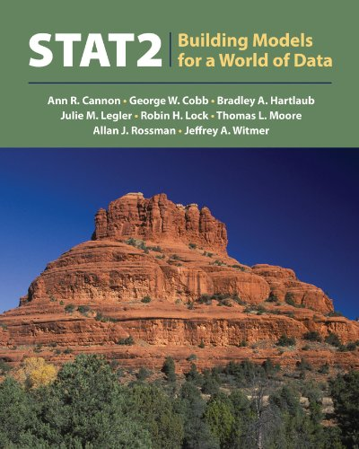 Stat2 Building Models for a World of Data  2014 edition cover