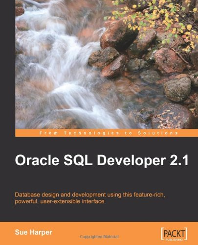 Oracle SQL Developer 2. 1   2009 edition cover