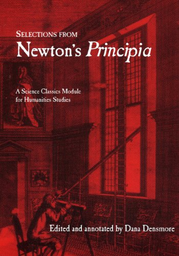 Selections From Newton's Principia  N/A edition cover