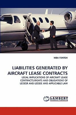 Liabilities Generated by Aircraft Lease Contracts  N/A 9783838370262 Front Cover