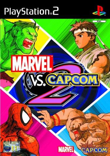 Marvel vs Capcom 2 (PS2) PlayStation2 artwork