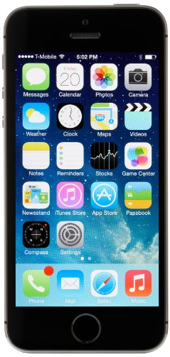 Apple iPhone 5s - 16GB - Space Gray (T-Mobile) product image