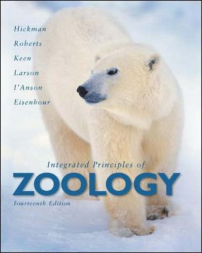 Integrated Principles of Zoology  14th 2008 edition cover