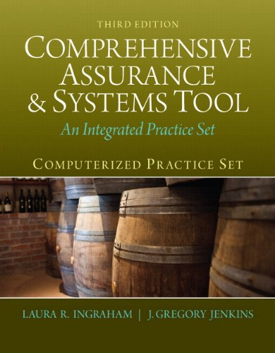 Computerized Practice Set for Comprehensive Assurance and Systems Tool (CAST) Plus Peachtree Complete Accounting 2012  3rd 2014 edition cover