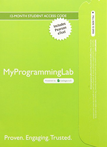 Starting Out with Python, Student Value Edition with MyProgrammingLab -- Access Card Package  3rd 2015 edition cover