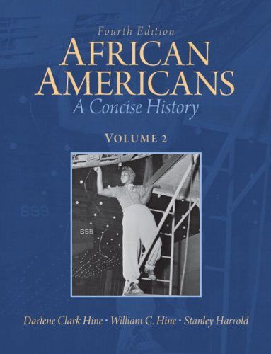 African Americans A Concise History 4th 2012 9780205806263 Front Cover