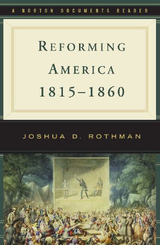 Reforming America, 1815-1860   2010 edition cover