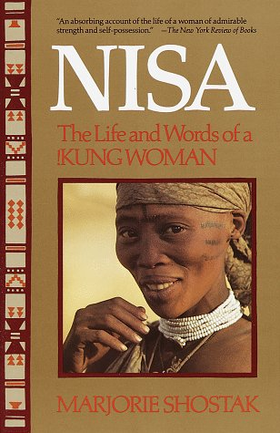 Nisa, the Life and Words of a Kung Woman N/A edition cover
