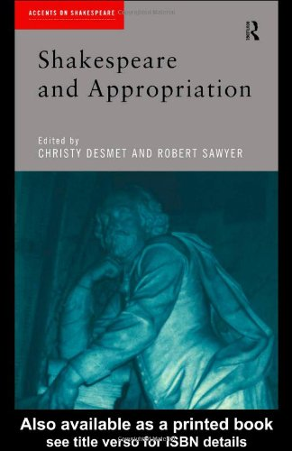 Shakespeare and Appropriation   1999 edition cover
