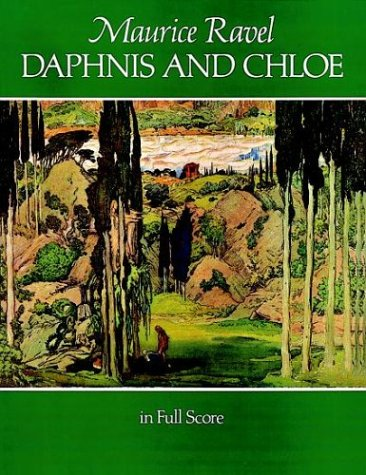 Daphnis and Chloe in Full Score  Reprint  edition cover