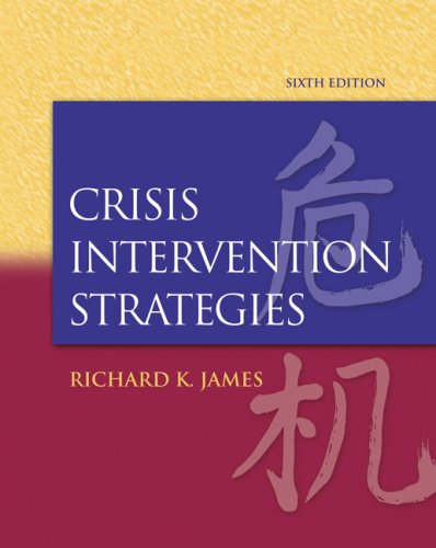 Crisis Intervention Strategies  6th 2008 edition cover