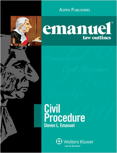 Civil Procedure 2008  23rd (Student Manual, Study Guide, etc.) edition cover