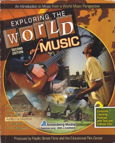 Exploring the World of Music  2nd 2010 (Revised) 9780757563263 Front Cover