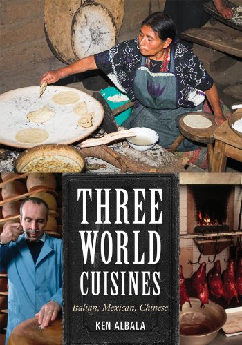 Three World Cuisines Italian, Mexican, Chinese  2012 edition cover
